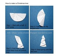Folded Christmas Tree