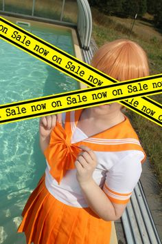 Sailor Moon Summer Uniform Orange