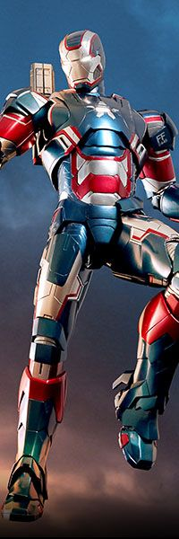 Iron Patriot Limited Edition Sixth Scale Figure - MMS Diecast Series (Hot Toys) $309.99