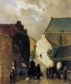 Fish Market Sun 1873 Wood Print by Weissenbruch Johan Hendrik. All wood prints are professionally printed, packaged, and shipped within 3 - 4 business days and delivered ready-to-hang on your wall. Classic Paintings, Paintings I Love, Dutch Artists, Great Artists, Fisher, Dutch Painters, Art Database, Office Art, Canvas Artwork