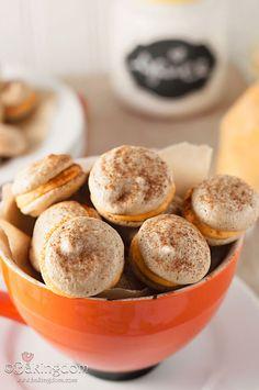 Cream-Filled Macaroon Meringue Cookies Recipes — Dishmaps