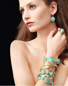 Turquoise Dresses Up Everything Or Nothing!