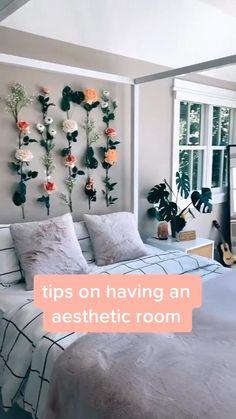 tips on having an aesthetic room