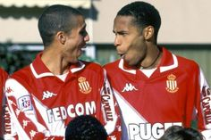 Trezeguet - Henry -  AS Monaco