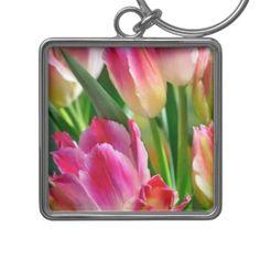 tulip keychain