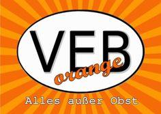 VEBorange DDR fleamarket Welcome, Berlin, Fruit