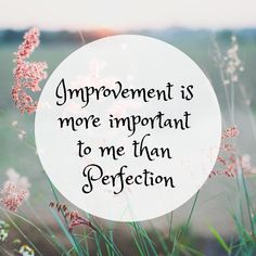 Improvement is more important to me than perfection When Us, On Set, Be Perfect, Coaching, Goals, Thoughts, Feelings, Life, Instagram
