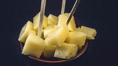 Pintxos: Marinert manchego Pineapple, Fruit, Food, Pine Apple, Essen, Meals, Yemek, Eten