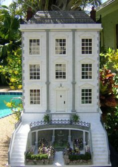 Dollhouses by Robin Carey: The Mornington Mews
