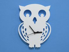 Cute owl clock.