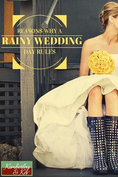 If you are worried about the rain ruining your wedding day, here are 10 reasons why you should be hoping it rains come the big day.   - See more at: http://www.kimberleyandkev.com/reasons-rainy-wedding-day-rules/#sthash.7RrtS7YQ.dpuf
