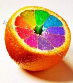 Kleurrijk voedsel, kinderen vinden dit vooral leuk