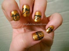 Lord of the Rings nails forged in Mount Doom | Offbeat Bride