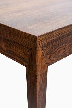 Severin Hansen desk in rosewood by Haslev Møbelsnedkeri at Studio Schalling #midcenturymodern #haslev