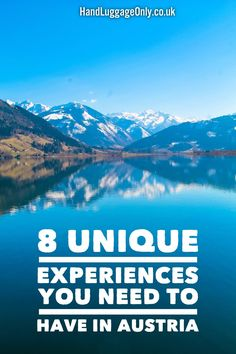 8 Unique Experiences You Need To Have In Austria - Hand Luggage Only - Travel, Food & Home Blog