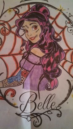 A little Disney, with some monster high hair and tattoos.