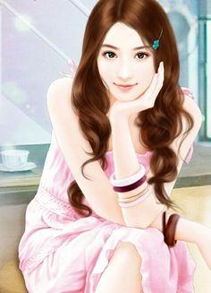 Image about art in Enakei by ◘ ♥ //Freesia\\ ♥ ◘ Beautiful Girl Drawing, Cute Girl Drawing, Beautiful Fantasy Art, Beautiful Anime Girl, Beautiful Asian Girls, Cute Beauty, Beauty Full Girl, Girly Drawings, Cute Cartoon Girl