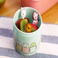 Promotion price 10pcs/set Animal Farm mini cartoon fruit fork sign resin fruit toothpick bento lunch children decorative Color Random 2016 just only $0.89 with free shipping worldwide  #dinnerware Plese click on picture to see our special price for you