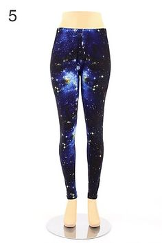 Womens Plus Size Leggings Print Pattern Floral Color Tights Stretch Pant Spandex   eBay