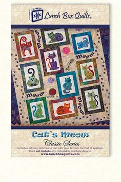 Lunch Box Quilts | Cat's Meow Embroidery (Redemption Code + CD)