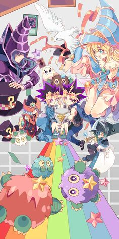 dark magician and dark magician girl 图片-叶桐君