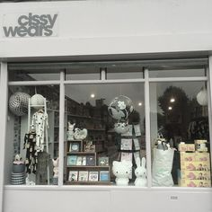 Shopfront, Cissy Wears, London. A new children's concept store for design-centric parents and kids that rock! Clothing, interiors, and gifts.