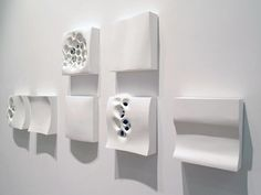 Michael Kukla's cellular sculptures