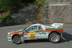 Lancia 037 (1983) - Gruppe B Rallyelegenden Saalfelden 2015. © Daniel Fessl für Zwischengas