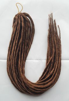 Elysee Star - #30 Reddish Brown Synthetic Dreadlocks (Double Ended) Pa – DreadLab