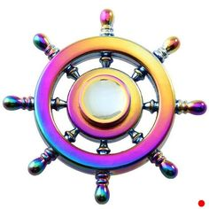 New Colorful Hand Spinner Rudder Shaped EDC Finger Gyro Fidget Spinner Funny Anti Stress Rainbow Fidget Spinner Toy Fidget Spinner Funny, Rainbow Fidget Spinner, Cool Fidget Spinners, Hand Spinner, Figet Spinners, Stress Toys, Stress Relief Toys, Ideas, Adhd
