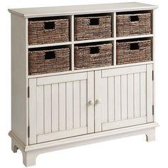 Holtom Cabinet - Antique White $400