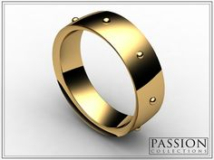 PC350YG 14K Yellow #Gold #Ring #Jewelry #mode #fashion #customjewelry #wedding