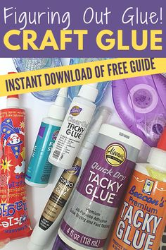 She helped me figure out the right glue to use for the right craft. Find out what is the best craft glue to use and get a FREE printable to help you remember! Arts And Crafts For Adults, Art Projects For Adults, Diy Art Projects, Glue Crafts, Easy Diy Crafts, Diy Arts And Crafts, Diy Paper, Paper Crafts, Glues And Adhesives