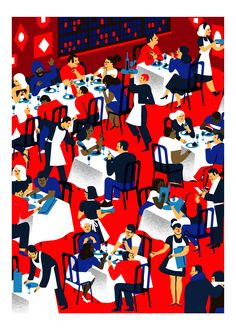 Virginie Morgand's vibrant illustrations celebrate a great night out - Digital Arts