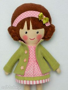 Malowana lala helenka lalki dollsgallery lalka zabawka
