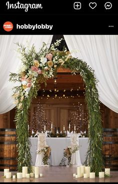 Wedding Consultant, Hobby Lobby, Mother Of The Bride, Floral Wedding, Greenery, Table Settings, Wreaths, Table Decorations, Flowers
