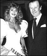 Claudia Frittolini ... Miss France 1988 ( remplacement de Sylvie Bertin Miss 1988 car elle avait refusé de participer à Miss univers).. http://news.bbc.co.uk/2/hi/entertainment/1015157.stm