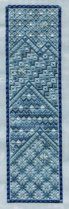 "Laura J. Perin Designs ""Long Winter Panel"" counted canvaswork, needlepoint project"