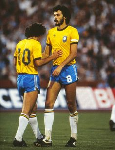 Socrates was such a creative, intelligent player, and you could always count on him to make your job much easier. His passes always put you in a great position or set you up for a shot on goal. I think we worked really well together. Arthur Antunes Coimbra (ZICO)