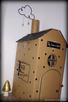 DIY: une cabane d'intérieur...