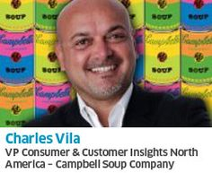 Charles Vila, VP Consumer & Consumer Insights, North America of Campbell Soup Company will be presenting Digital Fitness: The New Brand Imperative at #iiex