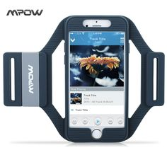 Mpow for iPhone 7 6 Armband Sports Running Workout Silicone Arm band Case Cover w/ Extension Straps for iPhone 7 6 // FREE Worldwide Shipping! Cool Phone Cases, Iphone Cases, Iphone 7, Phone Case Store, Arm Workout With Bands, Best Cell Phone, Apple Iphone 6, Cell Phone Accessories, Bicycle Accessories