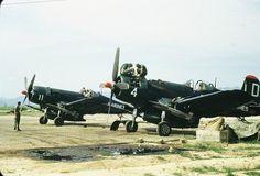 Busan suyeong K-9 Air Field Base during Korean War