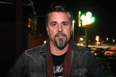 Fast N' Loud Richard Rawlings takes a break from filming at Discovery Channel's Live Clip Show Watch Party at his place Gas Monkey Bar and Grill on Jan 13, 2014