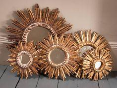 Sunburst mirror collection