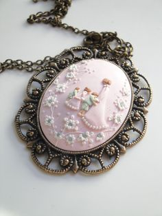 RESERVED for Dorit B.D Necklace Mother by DZHandmadeProducts