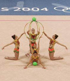 Team Brazil-Athens Olympics 2004