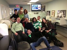 After the first annual St. Patricks Day Parade in the Rumson office. With @Tom McCormack, @Maureen Baez, @Barbara Etter, @Tom Etter, @Miriam Tort, @Joe Tort, @Sam Oncea, @LauraOncea