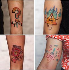 Mini Tattoos, Cute Tattoos, Body Art Tattoos, Small Tattoos, Tatoos, Tatoo Star, Gravity Falls Cosplay, Autumn Tattoo, Kawaii Tattoo