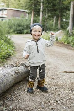 slouch beanie in ash solid #childhoodsclothing
